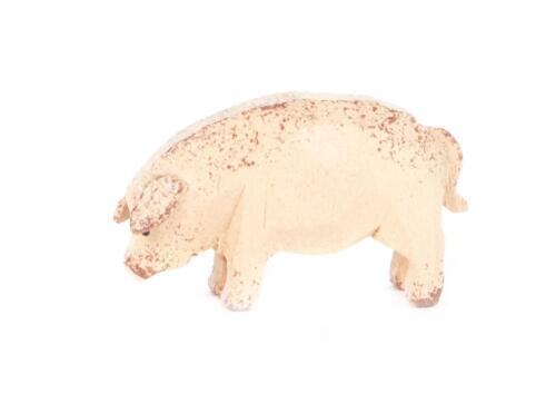 REIFENTIER Schwein NEU Erzgebirge Reifentiere Volkskunst Tiere Wald Bauernhof