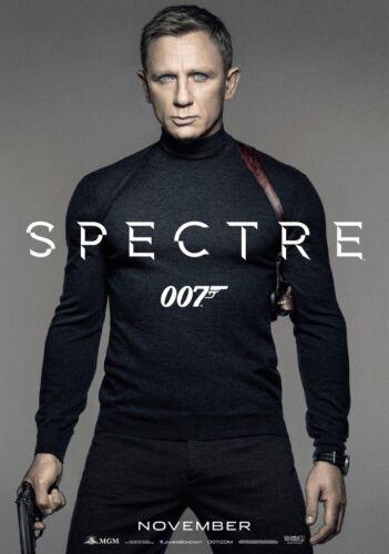 JAMES BOND; SPECTRE Movie PHOTO Print POSTER Film Art 007 Daniel Craig 001
