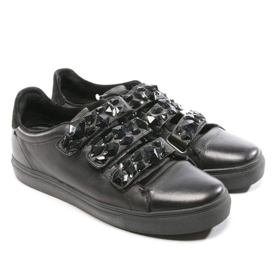 Kennel & Schmenger Zapatillas Zapatillas Zapatillas Talla D 39 Gb 6 Negro Mujeres Zapatos Pisos  venta al por mayor barato