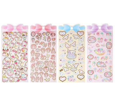 Sanrio Characters Iridescent Stickers Sheet Hong Kong Special My Melody Sweets