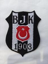 Aufnäher Patch Fußball Football club Türkei Besiktas Logo Iron on Bügelbild