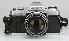 Minolta X-300 Lens Minolta ROKKOR-PF 55 mm 1.7 (Réf#R-019)