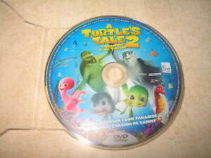 A-Turtle-039-s-Tale-2-DVD-2013-Canadian-English-French-DVD-DISC-ONLY