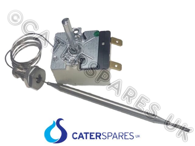 CONTROL THERMOSTAT FOR WET WELL BAIN MARIE WATER BATH STEAMER 110 °C C//W GLAND