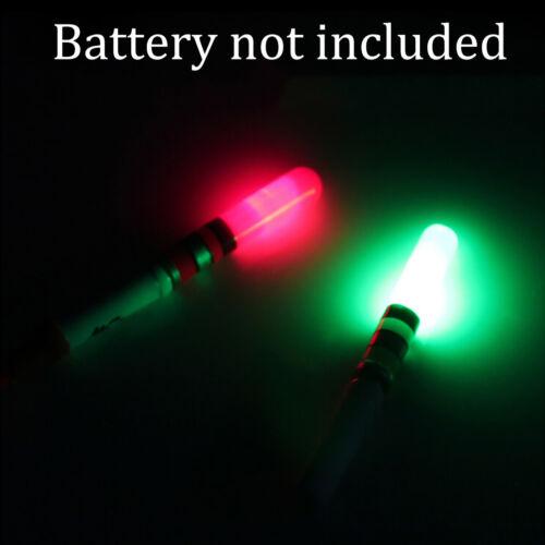 2Pc Fishing Float Light Stick LED Luminous Float For Dark Night Fishing TPO