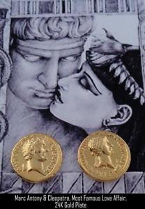 Mark-Antony-amp-Cleopatra-Roman-Coin-Roman-Empire-Most-Famous-Romance-3-G