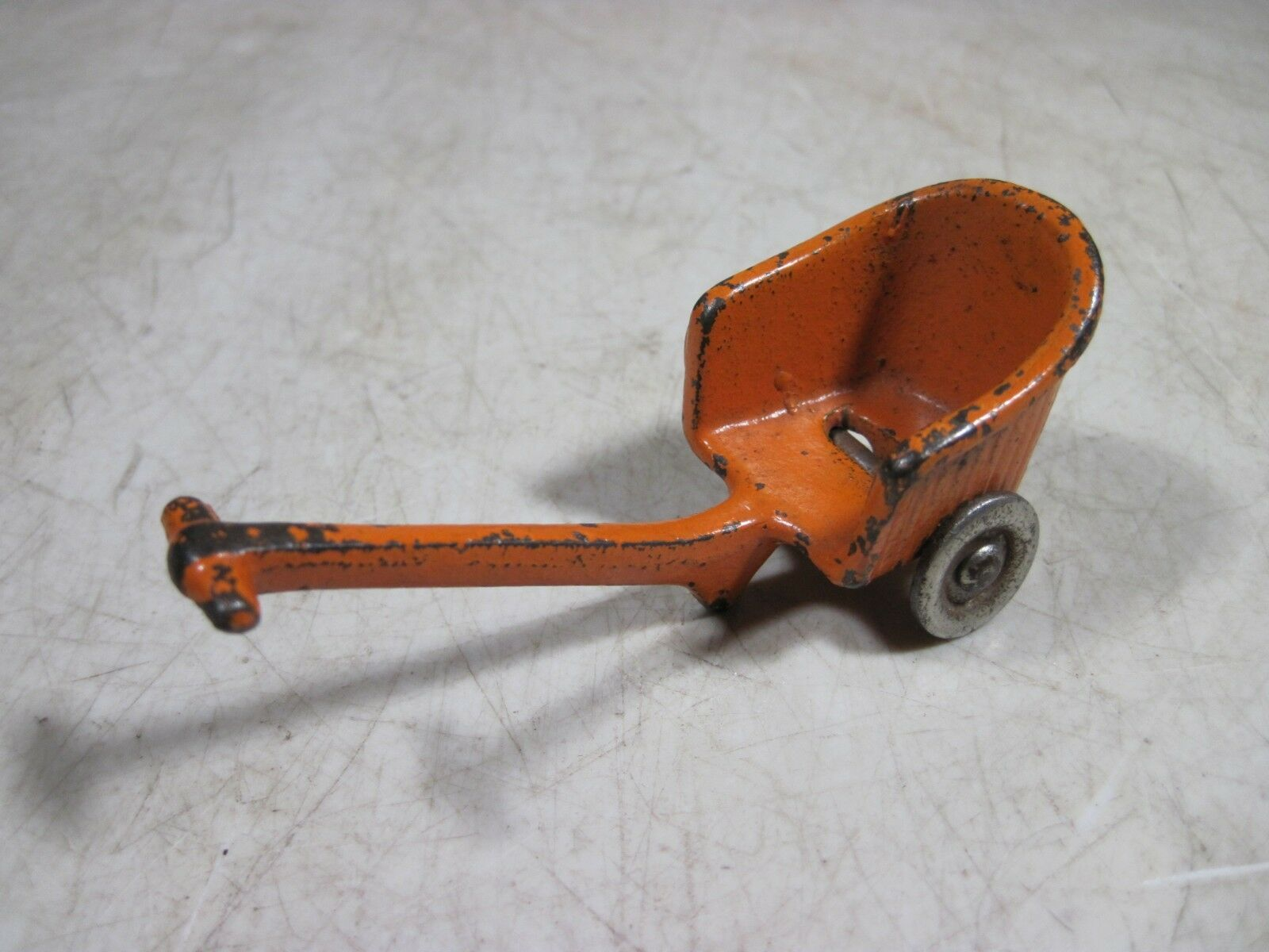 Antique Cast Iron Kilgore  bambolahouse bambino autoriage Sulky arancia  outlet online economico