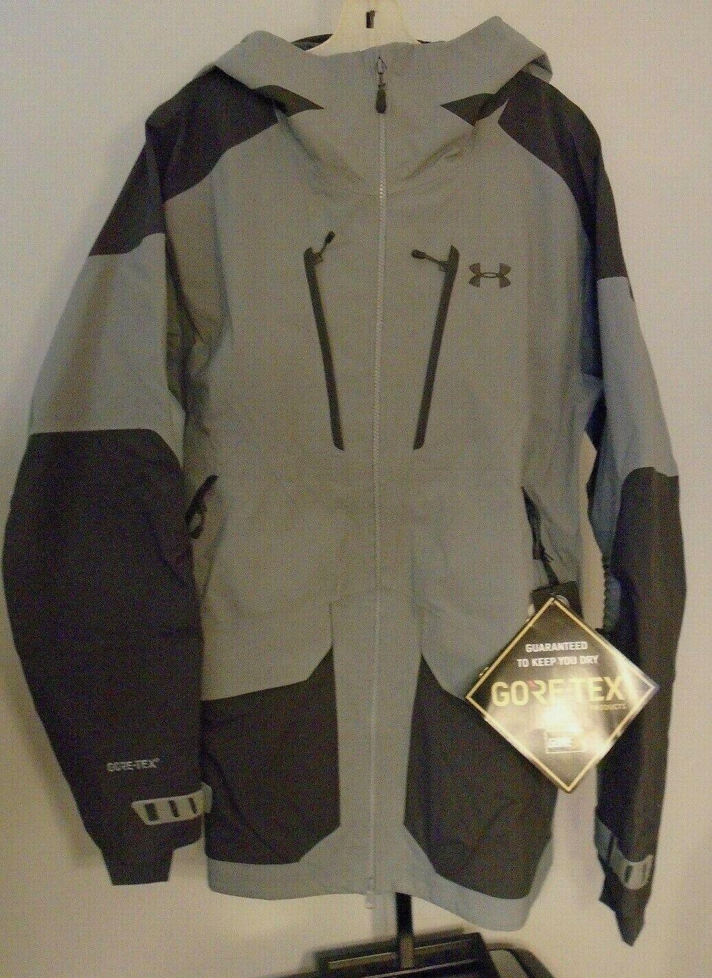 Órgano digestivo elefante bronce  Under Armour 1315977 Nimbus GTX Ski Jacket Gore-tex Men's XL Gray for sale  online   eBay