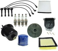 Honda Cr-v Lx Ex 2.0l Tune Up Kit With Filters Cap Rotor Plugs Wire Set on sale