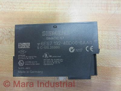 Siemens Output Module 6ES7 132-4BD00-0AA0 6ES71324BD000AA0