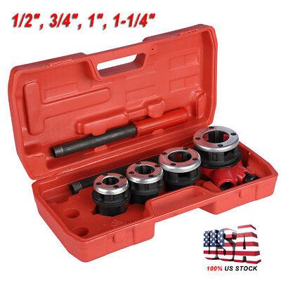 3//4in// 1in Thread Tool Maker NPT Round Die Pipe Threader Plumbing Tool 1//2in