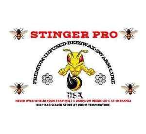 3 Melt Bars 2 + Ounces Of Stinger Pro Swarm Lure Infused Wax / Nasanov Pheromone