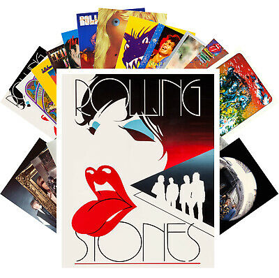 Rolling Stones Rock Music Vintage Posters CC1277 24 cards Postcards Pack