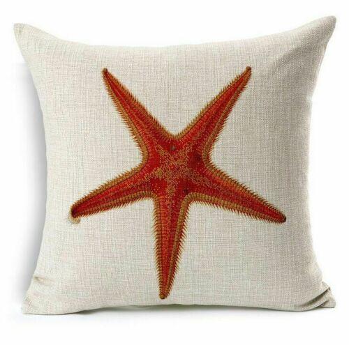 Pillowcase Decor Pillow Cover Coastal Decorative Ocean Home throw Seaside Beach