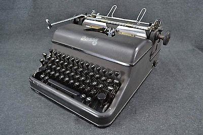 alte dekorative Schreibmaschine Rheinmetall Deko Shabby Chic Loft Industrial