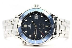 Omega-Seamaster-James-Bond-007-Limited-Edition-Chronometer-Men-039-s-Watch