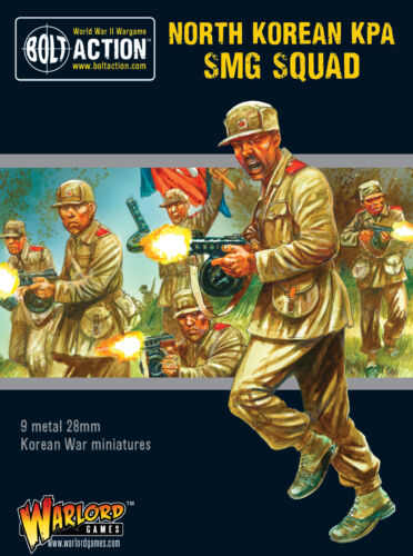 BOLT ACTION Entièrement neuf dans sa boîte North Korean KPA SMG Squad WGB-402218104
