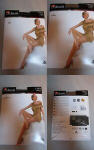 COLLANT-Grande-ADRIAN-Taille-T5-noir-gris-sierra-Collection-femme-ronde