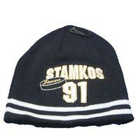Nhl Steven Stamkos 91 Winter Hat Toque Beanie Navy Tampa Bay Lightning