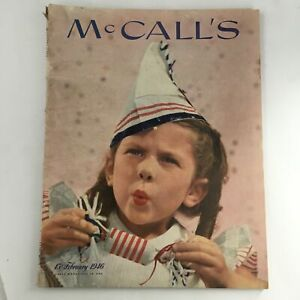 McCall's Magazine February 1946 Cover I.A.R Wylie illustrated by Pruett Carter