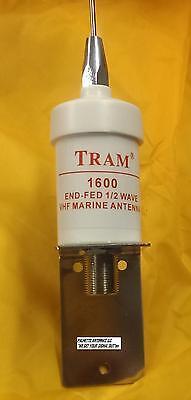 TRAM  VHF Marine Antenna (1600-HC) STAINLESS STEEL WHIP FREE USA SHIPPING