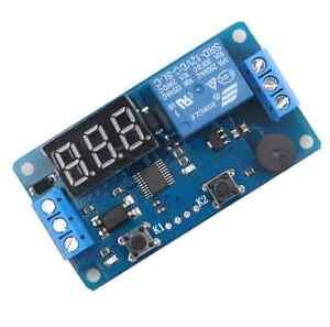 12V LED Display Digital Delay Timer Relay Control Switch Module PLC Automation 612318189270