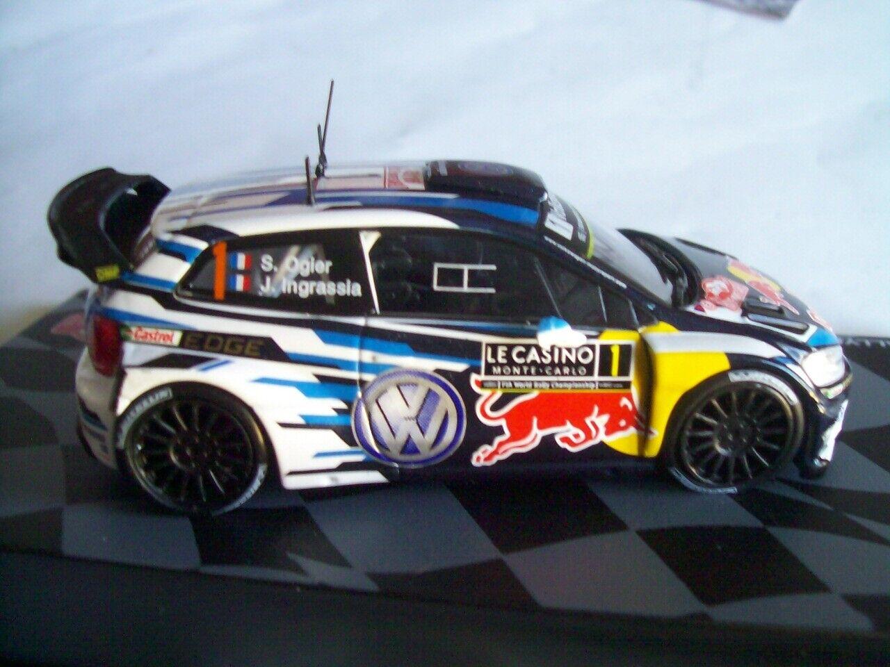 IXO Volkswagen Polo R WRC Winner Rallye Mo 1:43 RAM621