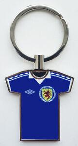 Scotland-football-team-home-kit-1978-chrome-keyring