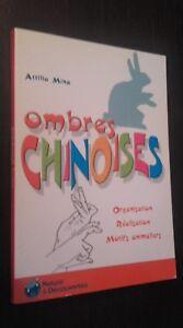 Sombras Chinas Attilio Mina Nature&decouvertes 2006 Demuestra Como Nuevo Tbe