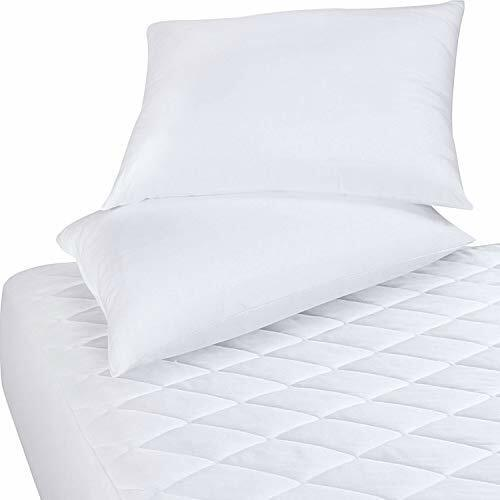 Bedding Pad Quilted Fitted Mattress Pad  Mattress Topper