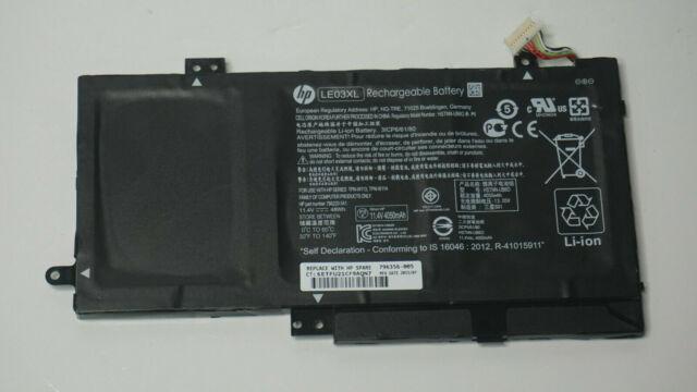 """HP ENVY x360 m6-w103dx 15.6"""" BATTERIA ORIGINALE 11.4V 48Wh 4050mAh 796356-005 LE03XL"""
