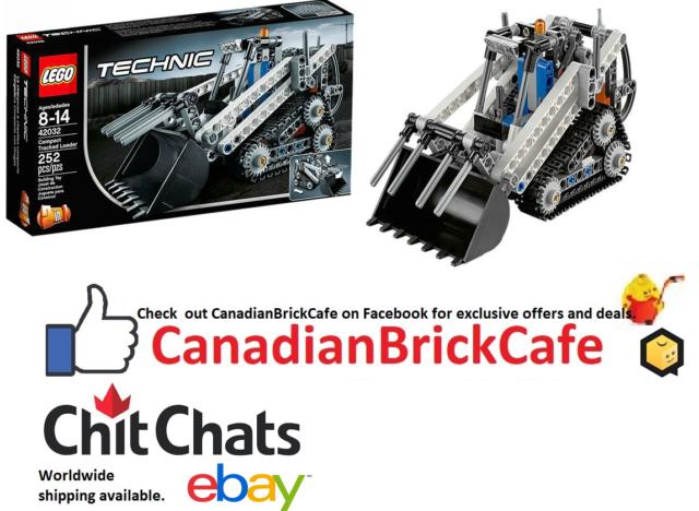 Lego Technic Compact Tracked Loader 42032 bnib