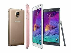 Android 32GB 3GB RAM Samsung Galaxy Note 4 (USA) N910V (Verizon) Unlocked Phone