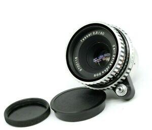Carl Zeiss Jena Tessar f2.8 50mm Exakta mount M42 lens DSLR Mirrorless Retro