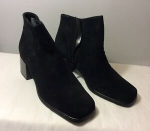 white mountain black boots size 81/2 m water resistant