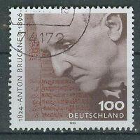 Briefmarken BRD 1996 Anton Bruckner Mi.Nr.1888