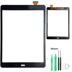 "White Samsung Galaxy Tab A 9.7/"" SM-T550 Digitizer Touch Screen Glass Lens"
