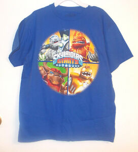 Skylanders-Giants-Boys-Blue-Tshirt-Sizes-14-16-XLarge-and-18-20-2XLarge-NWT