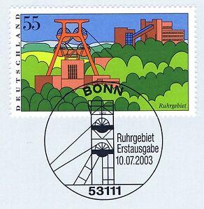 CompéTent Rfa 2003: Ruhr! Images De L'allemagne Nº 2355! Bonner Cachet! 1a! 1512-afficher Le Titre D'origine Facile à Utiliser