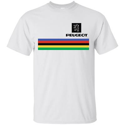 Rétro Vélo Tour de France Tom Simpson race vélo T-Shirt PEUGEOT