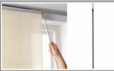 "NIB Ikea Kvartal Aluminum 43.25/"" Draw Rod for Curtains 43/"" 100.793.66 110 cm"