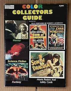 COLOR COLLECTORS GUIDE MOVIE POSTERS LOBBY CARDS SCIENCE FICTION HORROR FANTASY
