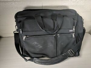 Tumi-26060D4-Black-Nylon-Expanding-Business-Laptop-Briefcase-Bag-Business-Travel