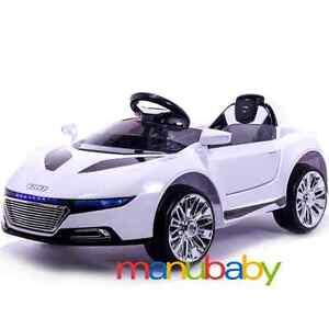 auto elettrica bimbi AUDI R8 macchina bambini telecomandata radiocomando