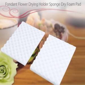 2Pcs-Fondant-Cake-Foam-Pad-Sponge-Sugarcraft-Mat-Flower-Modelling-Tools-Decor