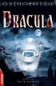 Dracula-EDGE-Classics-Retold-by-Stoker-Bram-Paperback-Book-The-Fast-Free