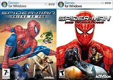 spiderman web of shadows & spider man friend or foe
