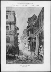 1898-Antique-Print-SPANISH-AMERICAN-War-Cuba-Rainy-Season-Streets-167