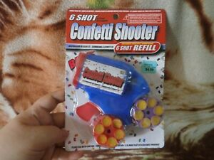 CLOSEOUT-SALE-Imported-From-USA-Confetti-Shooter-Blue