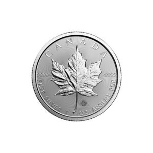 1 oz 2018 Silver Maple Leaf Coin - Royal Canadian Mint